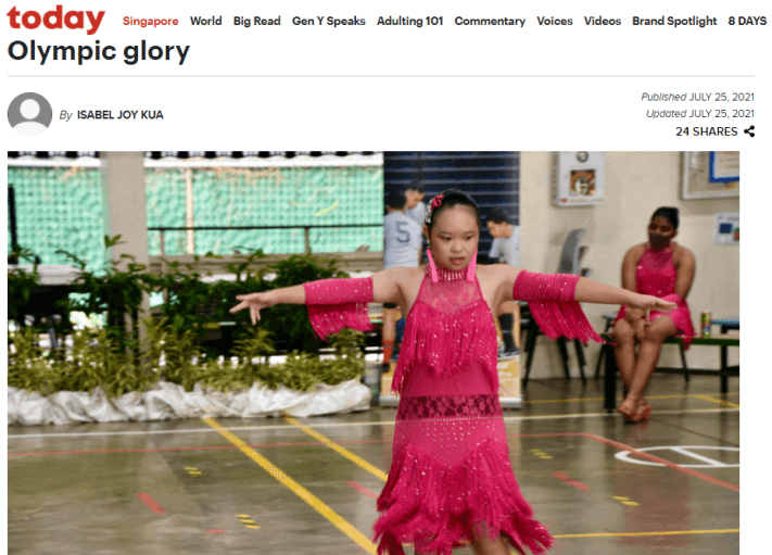 16-year-old dancer with Down syndrome now dreams of Olympic glory