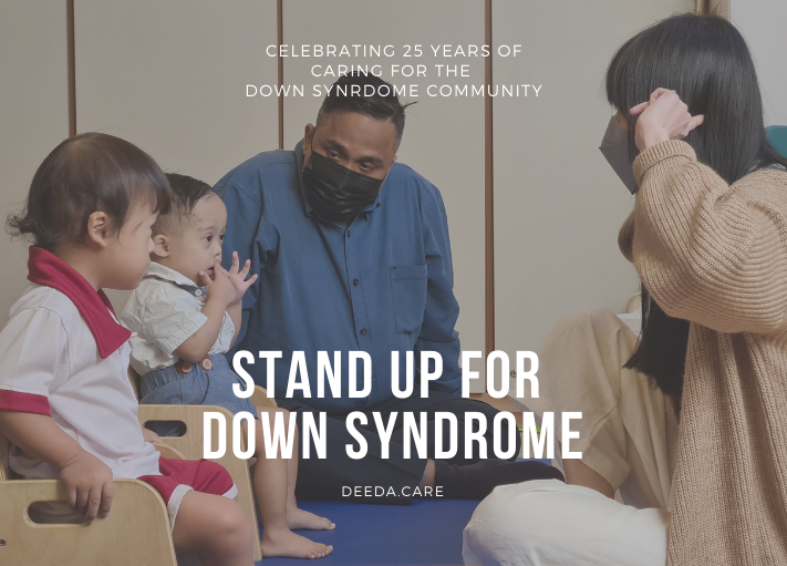 Online Campaign: Stand Up For Down Syndrome